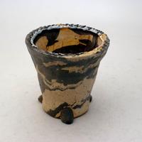 陶器製 植木鉢 ICMcdミカゲ-8865グリーン