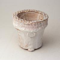 陶器製(2号ポット相当)多肉植物の欲しがる植木鉢 AAMcd-2756ピンク
