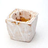 陶器製(2号ポット相当)多肉植物の欲しがる植木鉢 KKS-7514