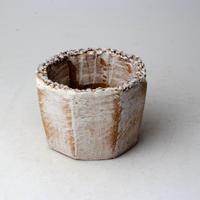 陶器製(2号ポット相当)多肉植物の欲しがる植木鉢 KES-2874