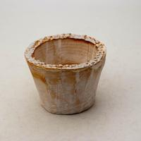 陶器製(2号ポット相当)多肉植物の欲しがる植木鉢  AAS-8638
