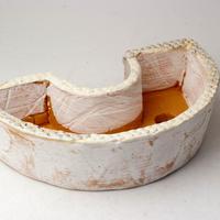 陶器製 多肉植物の欲しがる植木鉢 DCSc-2805イエロー