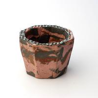 陶器製(2号ポット相当)植木鉢  KESc-ミカゲ-3962