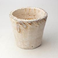 陶器製(3号ポット相当)多肉植物の欲しがる植木鉢 NSM-1894