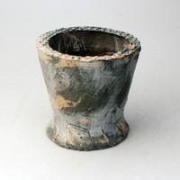 陶器製(2号ポット相当) 植木鉢 AAMcdミカゲ- 2062(グリーン)