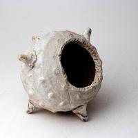 陶器製 多肉植物の欲しがる植木鉢 ER-3053