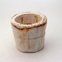 陶器製(2号ポット相当)多肉植物の欲しがる植木鉢 SSS-9015