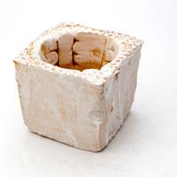 陶器製(2号ポット相当)多肉植物の欲しがる植木鉢 KKS-7509