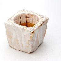 陶器製(2号ポット相当)多肉植物の欲しがる植木鉢 KKS-7515
