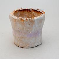 陶器製(2号ポット相当)多肉植物の欲しがる植木鉢 SSScd-9388 パープル