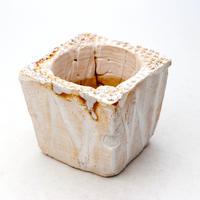 陶器製(2号ポット相当)多肉植物の欲しがる植木鉢 KKS-7511
