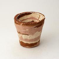 陶器製(2号ポット相当) 植木鉢 AAMcミカゲ-6620