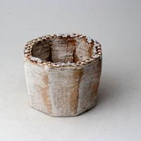 陶器製(2号ポット相当)多肉植物の欲しがる植木鉢 KES-2871
