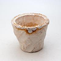 陶器製(2.5号ポット相当)多肉植物の欲しがる植木鉢 OPS-8203