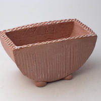 3/24〜4/30 緊急割引10%陶器製 植木鉢 HMc-ミカゲピンク  9781