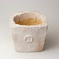 陶器製(3号ポット相当)多肉植物の欲しがる植木鉢 KKMd-2851