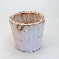 陶器製(2号ポット相当)多肉植物の欲しがる植木鉢 SSSc-8467ピンク