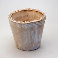 陶器製(3号ポット相当)多肉植物の欲しがる植木鉢 NSM-9292
