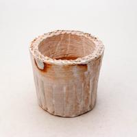 陶器製(2号ポット相当)多肉植物の欲しがる植木鉢 SSSc-7272ブルーグリーン