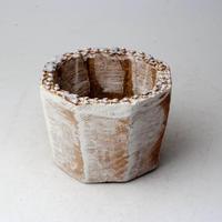陶器製(2号ポット相当)多肉植物の欲しがる植木鉢 KES-2870