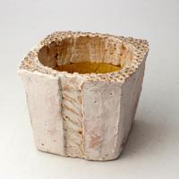 陶器製(3号ポット相当)多肉植物の欲しがる植木鉢 KKMd-2105