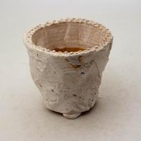 陶器製(2.5号ポット相当)多肉植物の欲しがる植木鉢 OPSd-8648
