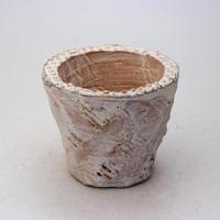 陶器製(2.5号ポット相当)多肉植物の欲しがる植木鉢 OPS-7725