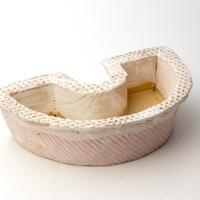 陶器製 多肉植物の欲しがる植木鉢 DCScd-4702ピンク