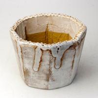 陶器製(3号ポット相当)多肉植物の欲しがる植木鉢 KELL-2209