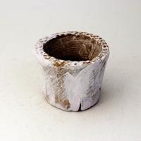 植木鉢 陶器(1.5号ポット相当)多肉植物の欲しがる植木鉢 SMSSc-2229パープル
