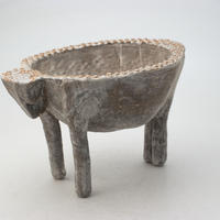 陶器製 多肉植物の欲しがる植木鉢 COW-M9070