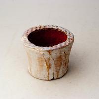 植木鉢 陶器(1.5号ポット相当)多肉植物の欲しがる植木鉢 SMSSc-2228パープル