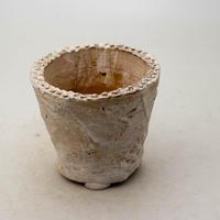 陶器製(2.5号ポット相当)多肉植物の欲しがる植木鉢 OPSd-8652