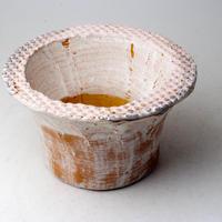 陶器製(2.5号ポット相当)多肉植物の欲しがる植木鉢 IBLcd-2855ピンク