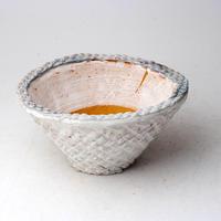 陶器製 多肉植物の欲しがる植木鉢 CCc 曲-3002ブルーグリーン