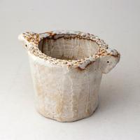 陶器製(2号ポット相当)多肉植物の欲しがる植木鉢 SSSd-2822