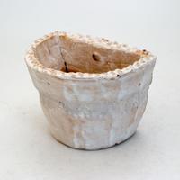 陶器製 多肉植物の欲しがる植木鉢 HPc-9424ブルー
