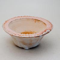 陶器製 多肉植物の欲しがる植木鉢 QQcd-9368 ピンク