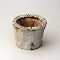 植木鉢 陶器(1.5号ポット相当)多肉植物の欲しがる植木鉢 SMSSc-2219グリーン
