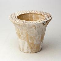 陶器製(2号ポット相当)多肉植物の欲しがる植木鉢 AAMd-2075
