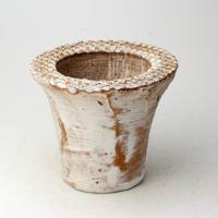 陶器製(2号ポット相当)多肉植物の欲しがる植木鉢 AAMd-2076