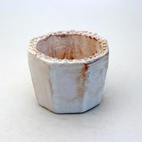陶器製(2号ポット相当)多肉植物の欲しがる植木鉢 KES-8936