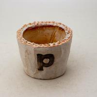 陶器製(2号ポット相当)多肉植物の欲しがる植木鉢 PSc-8661ピンク