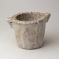 陶器製(2号ポット相当)多肉植物の欲しがる植木鉢 SSSd-2827