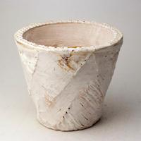陶器製(4号ポット相当)多肉植物の欲しがる植木鉢 OPL-  1656