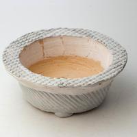 3/24〜4/30 緊急割引10%陶器製 多肉植物の欲しがる植木鉢 AQSScd - 9702ブルーグリーン