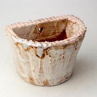 陶器製 多肉植物の欲しがる植木鉢 HPc- 2084ピンク