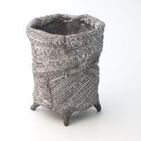 セキグチタカヒト 植木鉢 Crust type cylinder