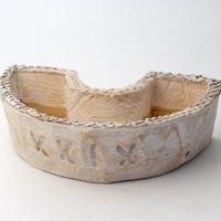 陶器製 多肉植物の欲しがる植木鉢 DCSc-xxix-6105グリーン