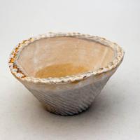 陶器製 多肉植物の欲しがる植木鉢 CCc 曲-9404ブルー